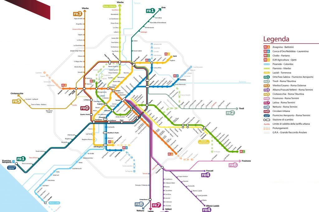 Cartina Roma Turistica.Monumenti Vicini Alle Stazioni Visitare Roma Con La Metropolitana Visitare Roma